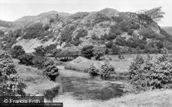 Garndolbenmaen, The River Dwyfor c.1955