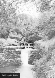 Garrigill, Ashgill, Lower Falls c.1955
