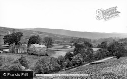 Garrigill, Looking Towards Alston c.1955