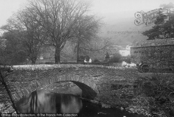 Photo of Garsdale, Bridge 1890