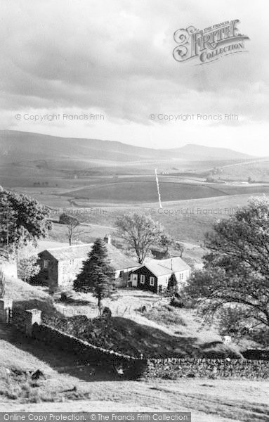 Photo of Garsdale, Garsdale Youth Hostel And Whernside c.1955