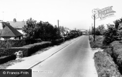 Garsington, Oxford Road c.1965