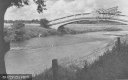 Fylde Water Board Bridge c.1960, Garstang