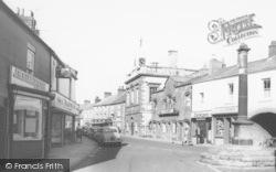 High Street Shops c.1965, Garstang