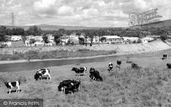 Six Arches Caravan Site c.1960, Garstang