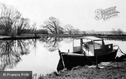 Spring Sunshine On The Canal c.1950, Garstang