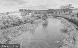 The Canal And Castle c.1960, Garstang