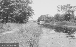 The Canal c.1960, Garstang