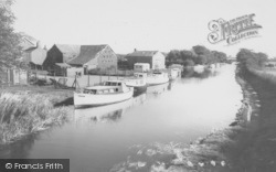 The Canal From The Bridge c.1965, Garstang