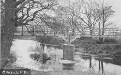 The Ford Bridge c.1955, Garstang