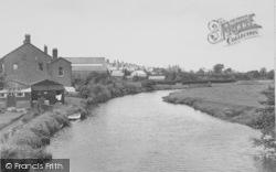 The River Wyre c.1950, Garstang