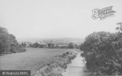 The River Wyre c.1960, Garstang