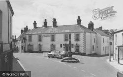 The Royal Oak Hotel And Market Cross c.1960, Garstang