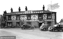 The Royal Oak Hotel c.1950, Garstang