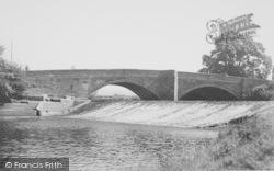 The Weir c.1960, Garstang