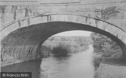 View Through The Aqueduct c.1950, Garstang