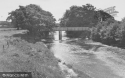 Wyre Lane Footbridge c.1960, Garstang