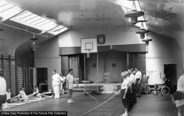 Garston, Manor Gymnasium c1955