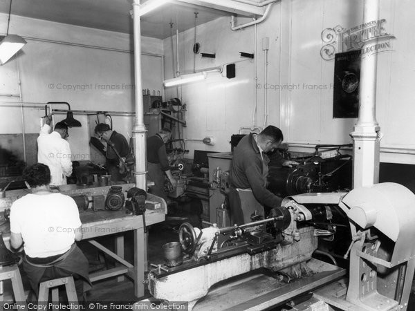 Garston, Manor Work Assessment Shop c1955