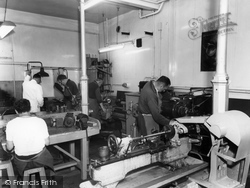 Garston, Manor Work Assessment Shop c.1955