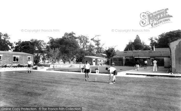 Garston, Manor Games Lawn c1955