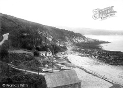 Garwick Glen, Beach And Glen 1896