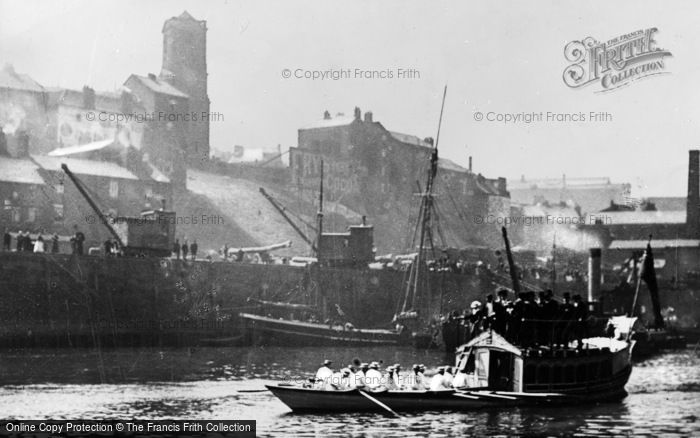 Photo of Gateshead, Barge Day On The Tyne c.1900