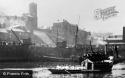 Gateshead, Barge Day On The Tyne c.1900