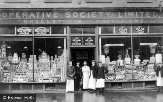 Gateshead, Grocery Store, Wrekenton 1911