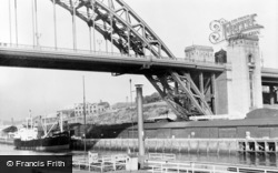 Gateshead, New Tyne Bridge And Gateshead Quay c.1955