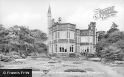 Gateshead, The Begonia Garden, Saltwell Park c.1955