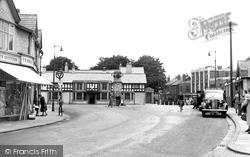 Gatley, Church Road 1957