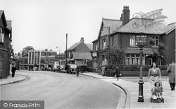 Gatley, Church Road c.1955