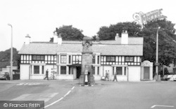 Gatley, Clock Tower c.1965