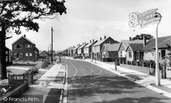 Gatley, Elmsleigh Road c.1960