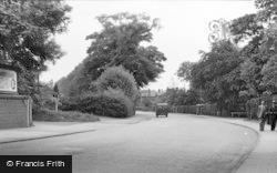 Gatley, Gatley Road c.1955