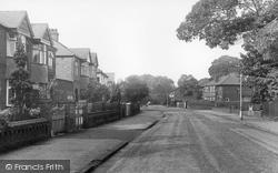 Gatley, Hawthorn Road c.1955