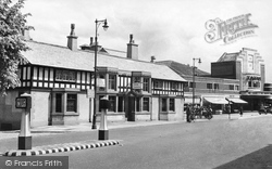 Gatley, Horse And Farrier And Tatton Cinema c.1955