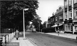 Gatley, Old Hall Road c.1965
