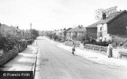 Gatley, Pendlebury Road c.1955