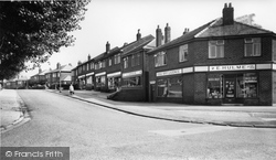 Gatley, Pendlebury Road c.1960