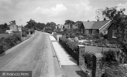 Gatley, Styal Road c.1960