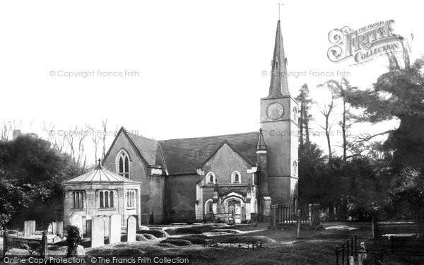 Gatton, the Church 1886