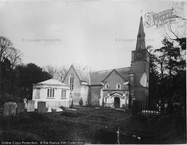 Photo of Gatton, St Andrew's Church c.1890