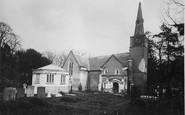 Gatton, the Church c1890