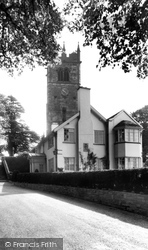 Gawsworth, Church And Rectory c.1955