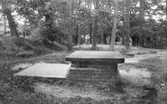 Gawsworth, Samuel Johnson's Grave 1897