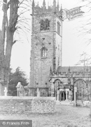 Gawsworth, St James' Church c.1955