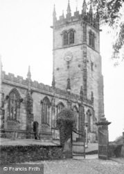 Gawsworth, The Church c.1935