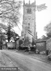 Gawsworth, The Church c.1950